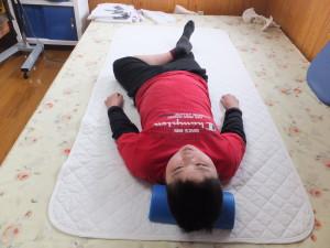 左股関節の向上