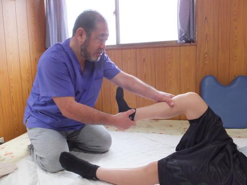 下肢のバランス調整