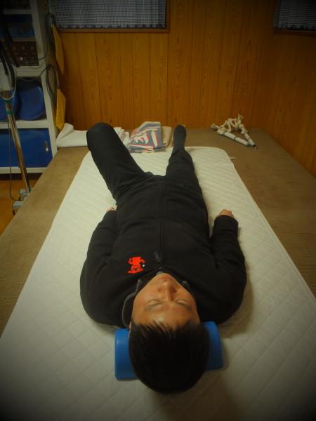 左股関節の可動域低下