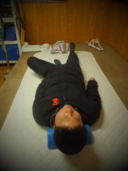 左股関節の可動域向上