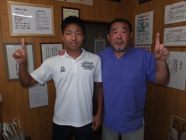 千葉県から名門青森山田高サッカー留学した一年生の国体選手(N君)