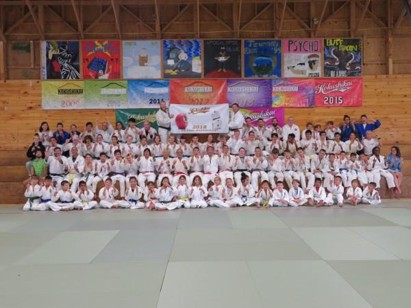 国士会JUDO主催の全米柔道選抜キャンプにて